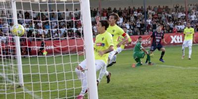 El Talavera encaja el segundo gol en Yecla.