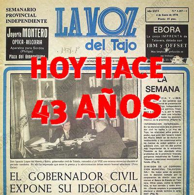 VIAJE EN EL TIEMPO | La Voz del Tajo cumple 43 años ¿Sabes qué pasaba entonces?