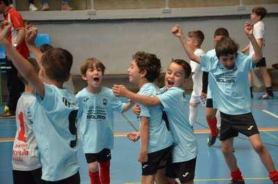 Rafael Morales hace pleno de finalistas en la VI Liga Escolar de Fútbol Sala Ciudad de la Cerámica