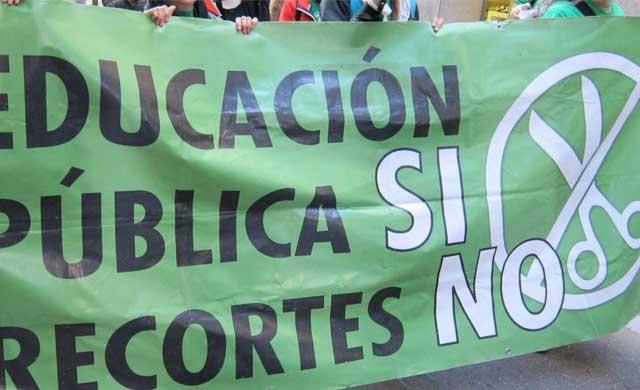 Concentraci�n en Talavera contra la LOMCE el pr�ximo mi�rcoles