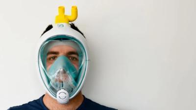 CORONAVIRUS | SESCAM no ha prohibido usar máscaras de buceo adaptadas como respiradores