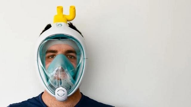 CORONAVIRUS   SESCAM no ha prohibido usar máscaras de buceo adaptadas como respiradores