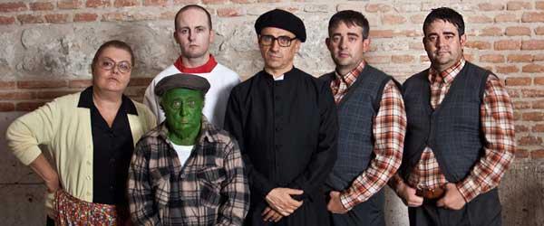 José Mota y sus compañeros de reparto