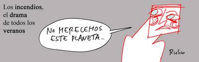 'No merecemos este planeta', el humor de Rubio
