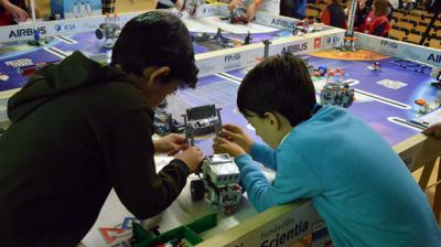 UCLM | 12 equipos de la región se dan cita en la First Lego League