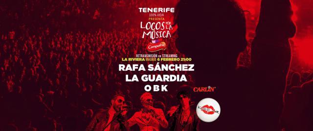 'LOCOS POR LA MÚSICA' | Kiss FM ofrece gratis un concierto esta noche en streaming