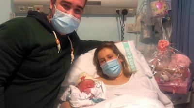 LOLA | Primera niña nacida en 2021 en el Hospital de Talavera