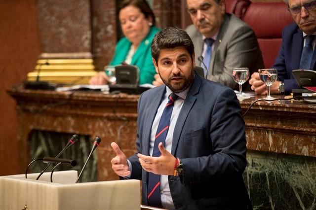 López Miras, nuevo presidente de la Región de Murcia / Foto: Europa Press