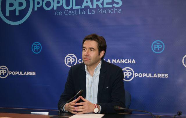 Imagen de archivo del portavoz del PP de CLM, Lorenzo Robisco