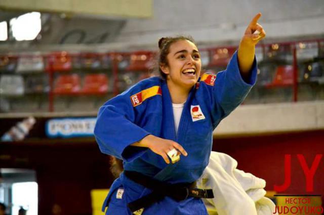 Lucía Pérez, campeona de España de Judo