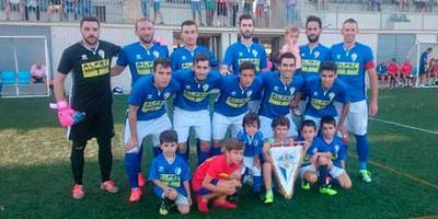 El CF Talavera cae en el feudo del Manchego (3-1) en un mal partido de los blanquiazules