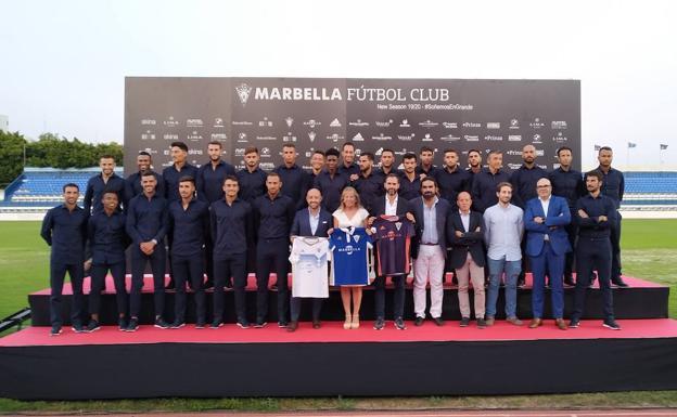 El todopoderoso Marbella visita El Prado este domingo.