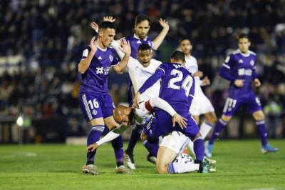 El Marbella, rival el miércoles del Talavera, a punto de eliminar al Real Valladolid
