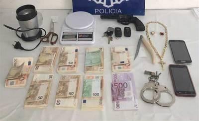 250 plantas de marihuana incautadas y dos personas detenidas en Alcázar de San Juan (Ciudad Real)