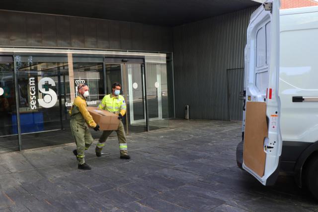 CORONAVIRUS | Más equipos de protección