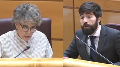 VIDEO | Rosa M. Mateo (RTVE) VS el talaverano Mariscal (VOX)