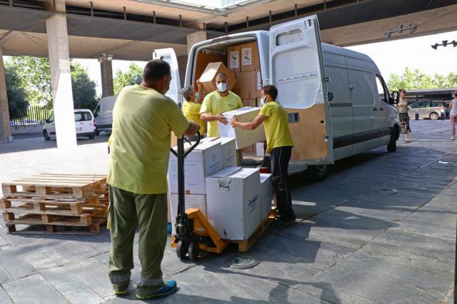 COVID 19 | La Junta sigue distribuyendo material