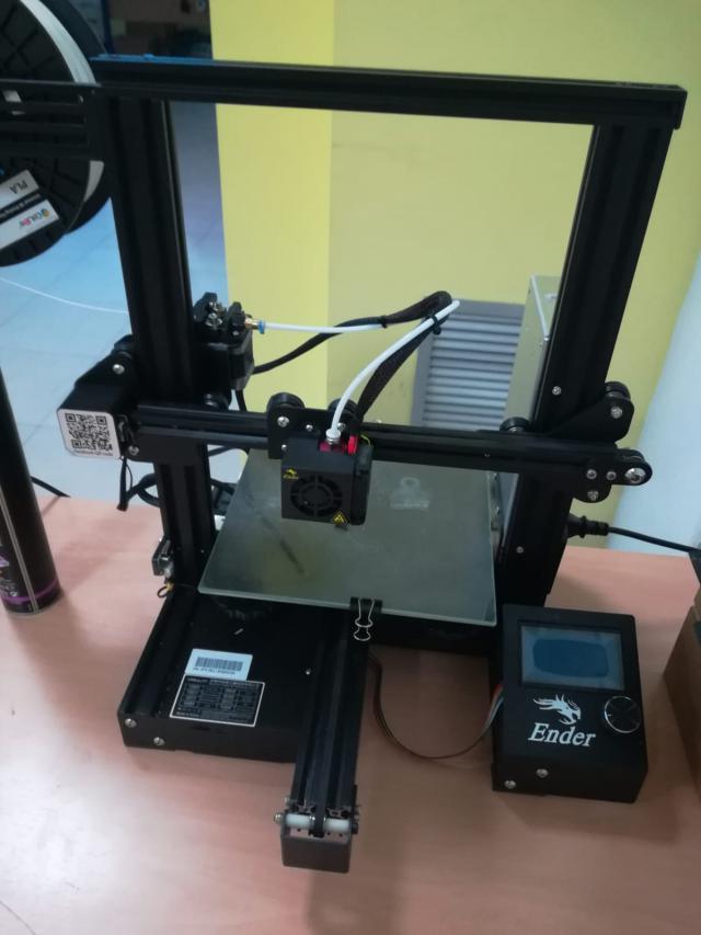 La impresora facilitada