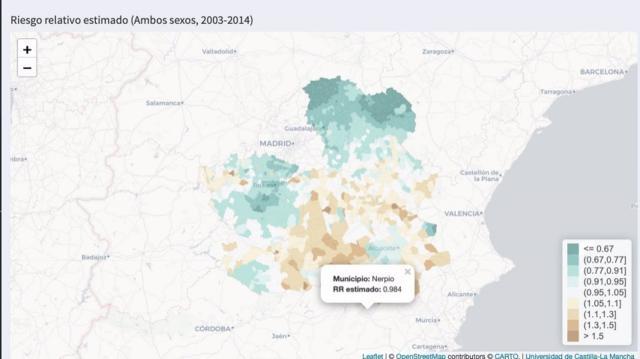 INFORME |La UCLM publica su Atlas de Mortalidad