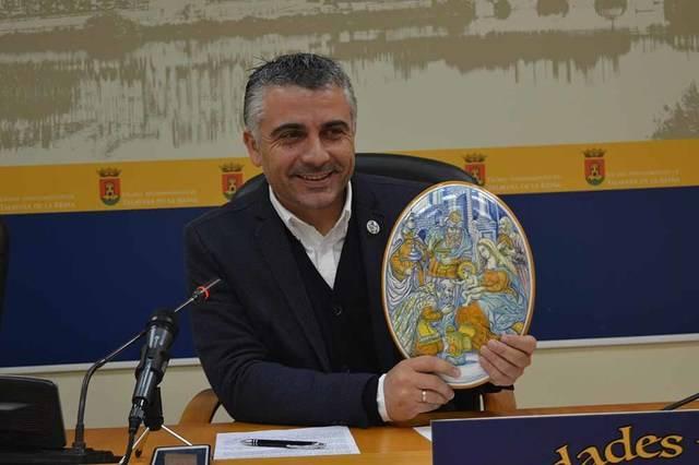 José Luis Muelas en la presentación de las actividades para Navidad en Talavera de la Reina