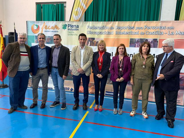 La Diputación destaca la celebración del XVIII campeonato regional de Tenis de Mesa de FECAM en Toledo