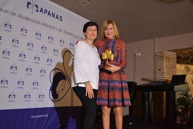 La Diputación de Toledo es nombrada Socio de honor de APANAS