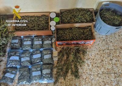 Incautados 32 kilos de marihuana en Illescas