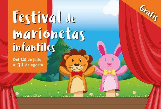El festival de marionetas para niños en Los Alfares