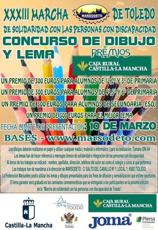 Marsodeto convoca un concurso de dibujo y lema dirigido a centros educativos