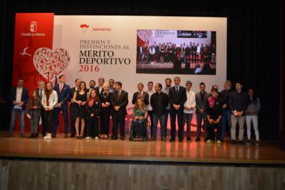 Premiados en la XX Gala Regional del Deporte