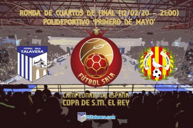 El Soliss FS Talavera ya sabe el día y la hora del duelo de Cuartos en la Copa del Rey