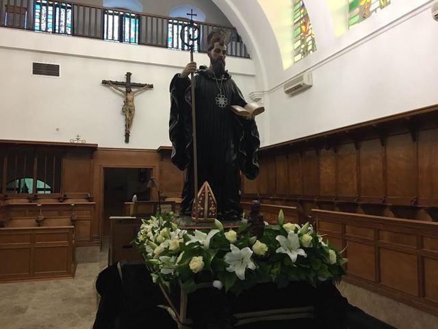 Las calles del Casco Antiguo de Talavera reciben a San Benito