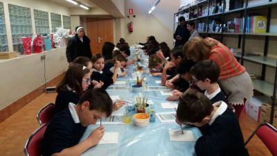 El Museo Ruiz de Luna acerca la cerámica a los escolares a través Arquecerámica