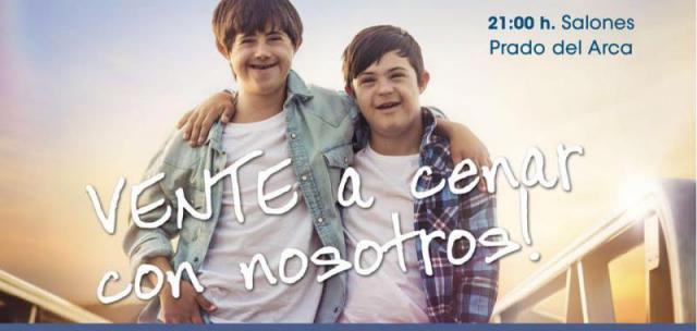 Down Talavera organiza su Cena Benéfica para recaudar fondos para la asociación