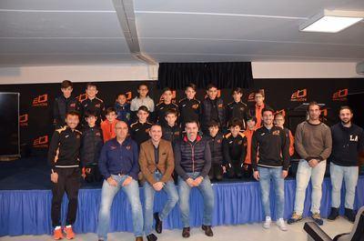 La Escuela Deportiva de Ebora Formación recibe la visita del futbolista atlético Antonio López
