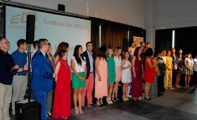Graduación de los 83 alumnos de Ebora Formación (GALERÍA)