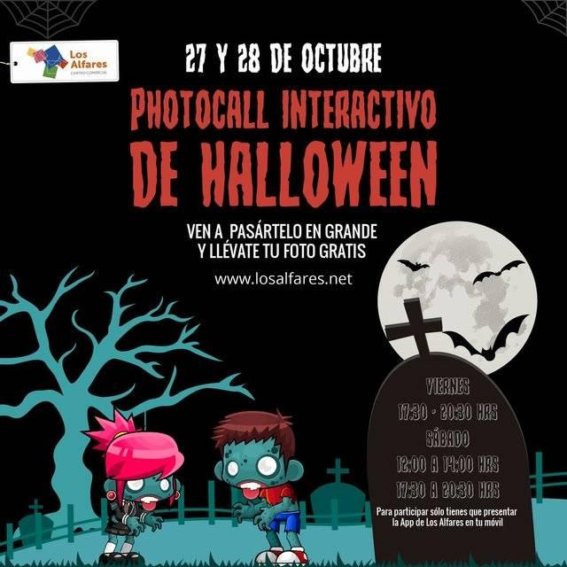 No te puedes perder el photocall interactivo de Halloween en Los Alfares