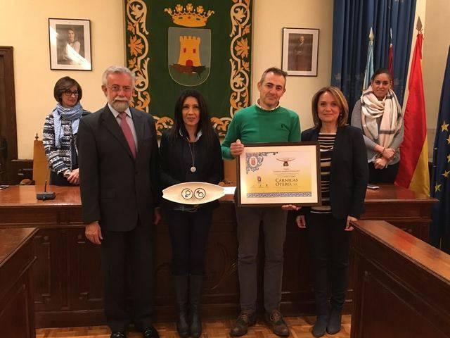 Cárnicas Otero recibe el X Premio ''Talavera en Igualdad: Empresa'