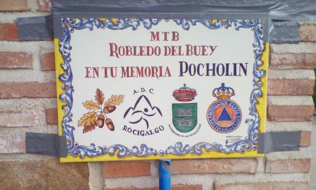 La V MTB Robledo del Buey se convierte en el 'Memorial Pocholín'