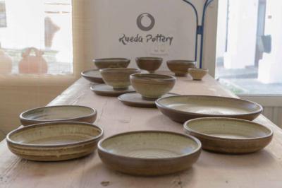 Amparo Rueda, alumna de la escuela de Arte de Talavera, Premio Regional de Artesanía de CLM