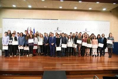 Los talaveranos Pablo Morales e Irene Cantos, Premios Extraordinarios de Enseñanza de Castilla-La Mancha