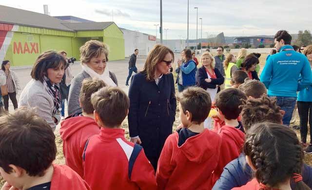 Exitoso simulacro con 350 alumnos en el Parque Comercial El Golf