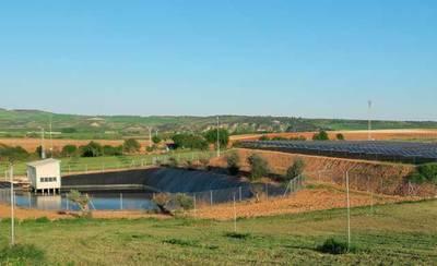 El conjunto de placas solares fotovoltaicas para el regadío directo más grande de España está en Calera y Chozas (VIDEO)