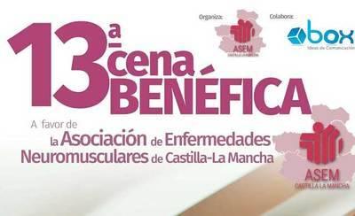 ASEM-CLM celebra este sábado su XIII Cena Benéfica