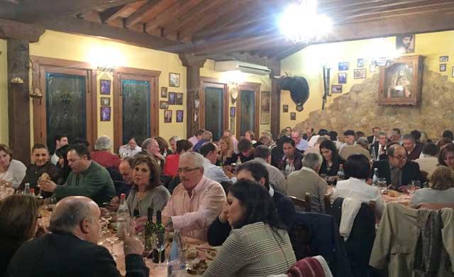 El PP de Pepino celebra su tradicional cena de Navidad