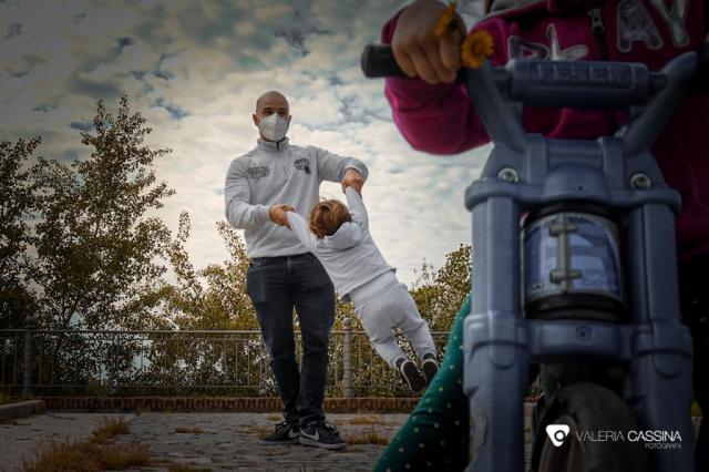 FOTOGALERÍA   Primer día con niños en la calle, por Valeria Cassina