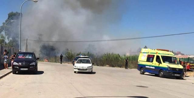 ¿Hay un pirómano rondando por Talavera? Otro incendio más