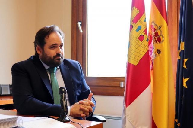 Francisco Núñez, presidente del PP de CLM