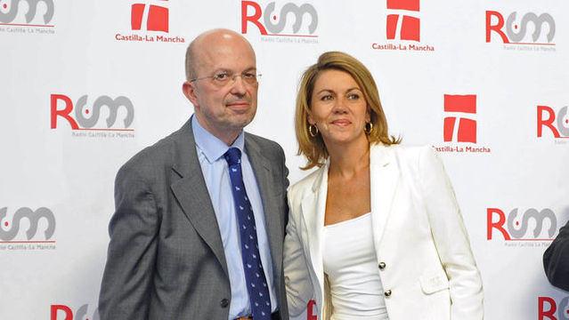 Nacho Villa con María Dolores de Cospedal
