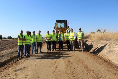 Comienzan las obras de mejora de varios caminos rurales en Casarrubios del Monte
